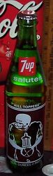 Joliet Catholic Hill Toppers 4 Times State Champions 16 Ounce Glass 7 Up Bottle