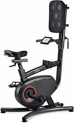 New Lifespan Fitness Cycle Boxer | Upright Exercise Bike With Cardio Boxing Work