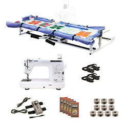 Juki Tl2010q Grace Cutie Frame With Speed Control Machine Quilting Combo 10