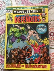 Marvel Feature 2 Mar 1972 Marvel 2nd Appearance Of The Defenders