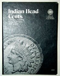 Whitman 1857-1909 Indian Head Cents - Including Flying Eagle Coin Folder 9003