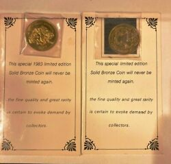 1983 And 1984 The Great Smoky Mountains National Park Coin