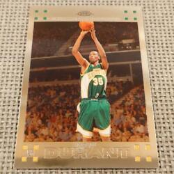 Kevin Durant Topps Chrome Basketball Card 2007-2008 Supersonics Nm-ex Rookie