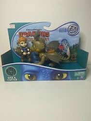Netflix Dreamworks Dragons Rescue Riders Toys Dak And Cutter Action Figure New