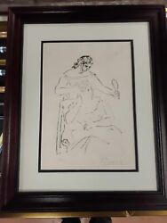 Picasso Two Women And A Mirror - Numbered Signed And Authenticated