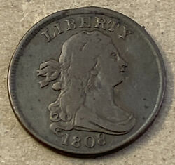 1808 Half Cent No Certification