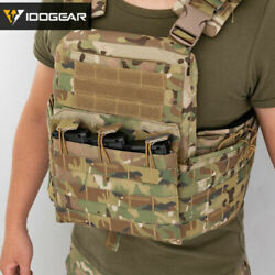 Idogear Military Tactical Vest Cherry Plate Carrier Cpc Camouflag Molle Airsoft
