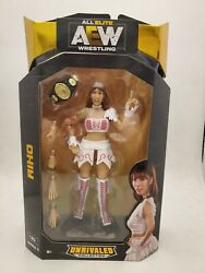Jazwares Aew Unrivaled Collection Riho Action Figure Sealed In Box Wrestling