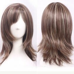 40cm Japanese Style Cosplay Wig Gold Brown Hair Curly Synthetic Sweet Hair
