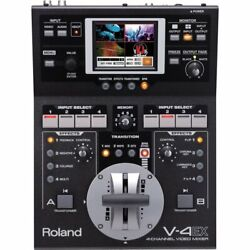 Roland V-4ex Four Channel Digital Video Mixer With Effects V4ex V-4 Ex F/s Dhl