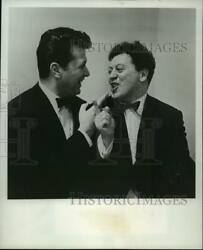 1964 Press Photo The Nutty Comedy Duo Of Allen And Rossi - Mjp00043