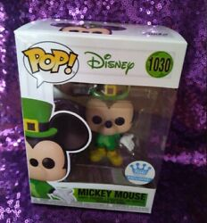 Funko Pop Disney St. Patrickand039s Day Mickey Mouse 1030 - Funko Shop Exclusive