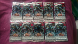10 X Brand New Yugioh The Shining Darkness 1st Edition Booster Packs - English