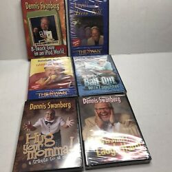 Dennis Swanberg Lot Of 6 Dvds Life Is Short.. Hug Your Mama Bail Out Baseball -p