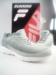 Womenand039s Fila Decimal Memory Foam Running Shoes Size 4 High Rise Monument Grey