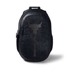 Under Armour Project Rock Brahma Bull Backpack Jet Gray #1359284 010 $54.91