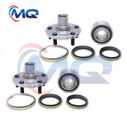 2 Front Wheel Hub Bearing And Kits For 1983-91 Toyota Camry 1986-89 Toyota Celica