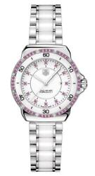 Tag Heuer Formula 1 Steel And Ceramic Pink Sapphire Womens Watch Wah1319.ba0868