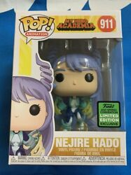 Eccc 2021 Shared Sticker Excl. Funko Pop Nejire Hado My Hero Academia Sold Out
