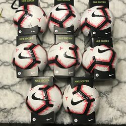 Nike Merlin Official Match Soccer Ball Acc Size 5 Psc657 100 Lot Of 8