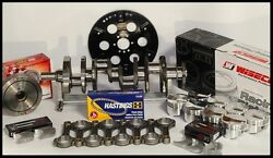 Bbc Chevy 555 Rotating Assembly Scat And Wiseco +12.5cc Dome 4.560 Pistons 2pc Rms
