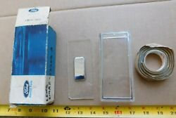 Nos Grille Lamp Lens For 1979 Ford Full-size Cars With Single Headlights 79