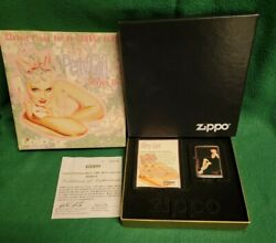 Vintage Zippo Petty Girl Esquire September 1936 Fadaway Limited Edition Lighter