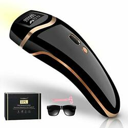 Fasbruy Ipl Hair Removal Permanent Painless Laser Remover Device Black
