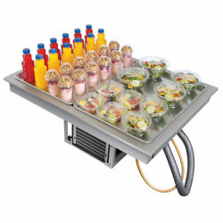 Hatco Cwb-2 Two Pan Refrigerated Drop In Cold Food Well With Drain - 120v New