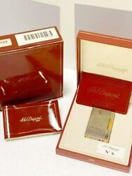 Pole Limited Edition Dupont Gas Lighter Gatsby Mercure Silver