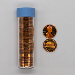 1976 S Proof Lincoln Memorial Cents 1c Gem - Estate Unsearched - Full Roll
