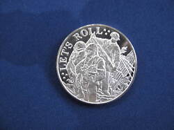 Letand039s Roll Land Of The Free Home Of The Brave Silver Art Medal P2821