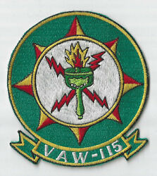 Theatre Made Usn Vaw-115 Squadron Patch