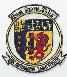 Theatre Made Usn Air Antisubron 38 Squadron Patch