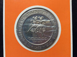 1969 Franklin Mint Silver Slipper Casino One Dollar Proof Gaming Token A4601