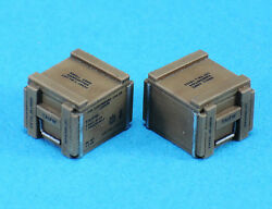 Legend 1348 1/35 Wwii 210rd Cal.50 Wooden Ammo Crate Set 8 Pcs