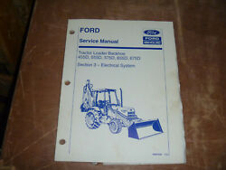 Ford New Holland 675d Tractor Loader Backhoe Electrical Service Repair Manual
