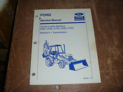 Ford New Holland 575d 655d Tractor Loader Backhoe Trans Service Repair Manual