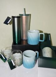Starbucks 50th Anniversary Full Set Collection Brand New Limited Edition Htf