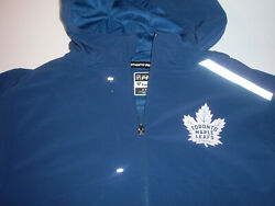 Toronto Maple Leafs Fanatics Authentic Pro Rinkside Hooded Jacket Nwt Sz M