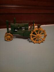 Heavy Cast Iron Reproduction John Deere Gp Tractor Toy