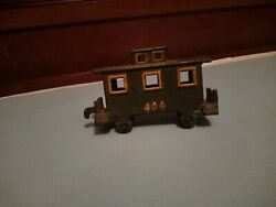 Old Vintage Antique Cast Iron Train Engine And Tender Coal Car 50