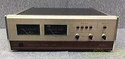 Used Accuphase P 300x Preamplifier 80w 8Ω Home Audio Rare From Japan