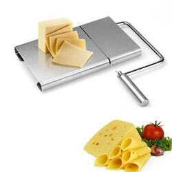 Cheese Butter Bread Slicer Tool High Quality Stainless Steel Cutting Table Board