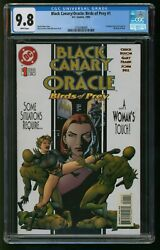 Black Canary Comic Oracle Birds Of Prey 1 Cgc Nm-m Dc Comics White Pages