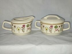 Temper-ware By Lenox Sprite Sugar And Creamer With Lid
