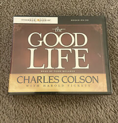 Unabridged Audiobook The Good Life By Charles Colson Sealed