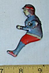 Flapper Girl Tin Toy Driver Figure For Car Tin Part 1920s