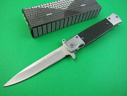 Tactical Sog Spring Assisted Opening Knife Outdoor Saber Hunting Camping Tools