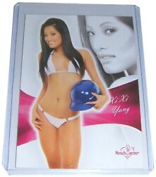 Benchwarmer Xi Xi Yang 2011 Bubblegum Trading Card 66 Live From The Red Carpet